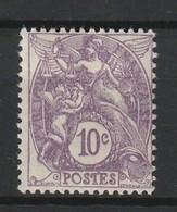 FRANCE TYPE BLANC 1927-31 YT N° 233 * - 1900-29 Blanc