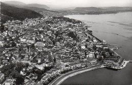FOTOCARTOLINA-VUE AERIANNE DE NEUCHATEL-VIAGGIATA 1962 - NE Neuchâtel