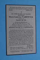 DP Maria VAREWYCK ( Hendrik DE NIL ) SINAY 14 Dec 1862 - Schooten 26 Aug 1932 ( Zie / Voir Photo ) ! - Avvisi Di Necrologio