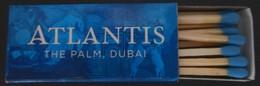 BOITE D'ALLUMETTES De L'HOTEL THE PALM ATLANTIS à DUBAI -TRES BON ETAT -Réf.637(2) - Zündholzschachteln