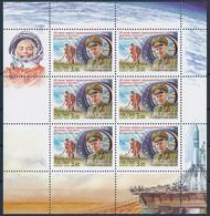 Mi 932 MNH ** Sheetlet / 2nd Crewed Spacelight 40th Anniversary / Space Orbit Cosmos - Gherman Titov, Vostok 2 - 1992-.... Federation