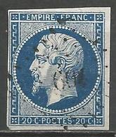 FRANCE - Oblitération Petits Chiffres LP 604 LA CAPELLE-BANHAC (Lot) - 1849-1876: Période Classique