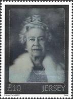 Jersey 2012 Yvert N° 1729**- Queen Elisabeth II Hologram (hologramme) - Jersey