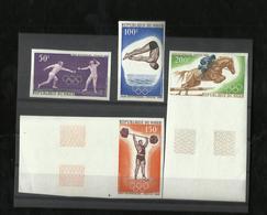 NON DENDELÉ - 1968 - REPUBLIQUE DU NIGER - JEUX Olympiques Mexico 1968 - Nigeria (1961-...)