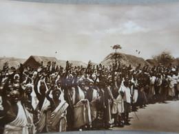 "IT  - SOMALIE - SOMALIA ITALIANA - BAIDOA -Saluto Ai "" Muscir "" ( Governatore) - Carte Photo - Somalia"