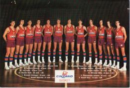 Squasra Di Pallacanestra Della Cinzano Basket - Basketbal