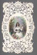 Mariage Edouard Neveu  Image Pieuse  Canivet Xix 19eme  A Saintan Paris - Images Religieuses