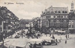 ST JOHANN - SAAR - DEUTSCHLAND  -  BELEBTE ANSICHTKARTE 1911 - Germany