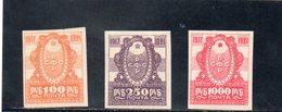 URSS 1921 * - Neufs