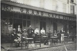 4042 - Carte Photo GRAND CAFE DELBOSC -lieu A Identifie - Hotels & Restaurants