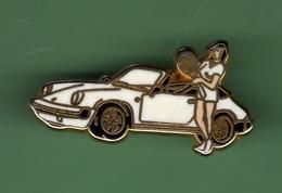 PORSCHE DECAPOTABLE BLANCHE *** Signe ATALANTE *** 1031 (39) - Porsche