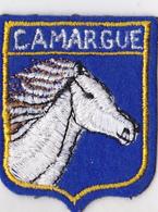 Ecusson Brodé CAMARGUE  Tête Cheval - Scudetti In Tela