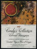 Etiquette De Vin // Afrique Du Sud // Cabernet Sauvignon 1987 - Sud Africa