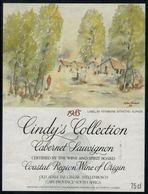 Etiquette De Vin // Afrique Du Sud // Cabernet Sauvignon 1985 - Sud Africa