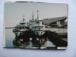 Polen Pologne Poland Gdynia Dworzec Morski Zeglugi Gdanskiej Boats - Polen