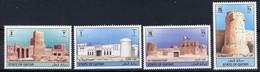1997 QATAR Forts Complete Set 4 Values MNH - Qatar