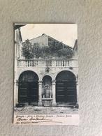 BITONTO ATRIO E GIARDINO PENSILE PALAZZO BOVIO  1905 - Bitonto