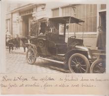 1912 RUE DE LYON EXPLOSION TAXI AUTO  POLICE +-18*13CM Maurice-Louis BRANGER PARÍS  (1874-1950) - Coches