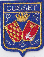 Ecusson Brodé CUSSET - Patches