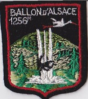 Ecusson Brodé BALLON D' ALSACE 1256 M - Scudetti In Tela
