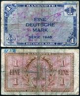 Germany - 1 Deutsche Mark 1948 Ro. 232 VF Lemberg-Zp - [ 5] 1945-1949 : Bezetting Door De Geallieerden