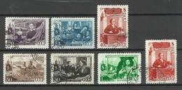 RUSSLAND RUSSIA 1949 Michel 1318 - 1324 O Frauentag - 1923-1991 USSR