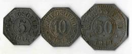 SARREBOURG 5+10+50 - Monétaires / De Nécessité
