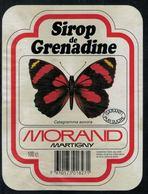 Etiquette De Sirop // Papillons // Sirop De Grenadine - Autres