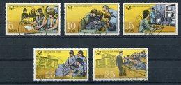 DDR Michel-Nr. 2583-2587 Vollstempel Tagesstempel - Usati
