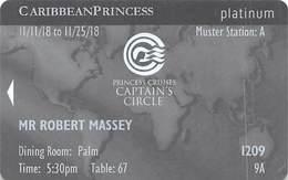 Princess Cruises - Cruise Ship Room Key / ID Card - Cartes D'hotel