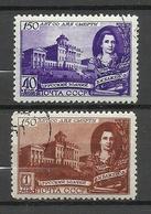 RUSSLAND RUSSIA 1949 Michel 1367 - 1368 O - 1923-1991 UdSSR