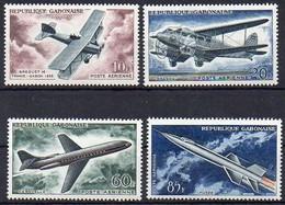 Gabun  1962  MiNr. 175/ 178  ** / Mnh ; Entwicklung Der Luftfahrt: Flugzeuge - Gabun (1960-...)