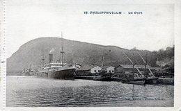 PHILIPPEVILLE , Le Port - Skikda (Philippeville)