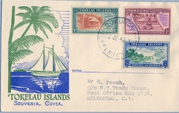 1948 , TOKELAU , NUKUNOMO - MELBOURNE, MOTIVOS DIVERSOS - Tokelau