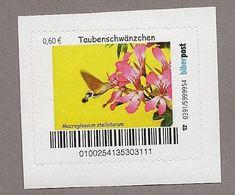BRD - Privatpost Biberpost Schmetterling - Taubenschwänzchen -(Macroglossum Stellatarum) - BRD