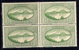GUADELOUPE, BLOCK OF 4, NO. 105, MNH - Guadeloupe (1884-1947)