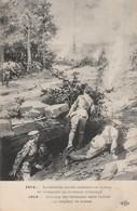 1914 : L'artillerie Lourde Anglaise En Action..... ( Illustration ) - édit. E.L.D. - - Guerre 1914-18