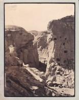 CUEVAS DEL ALMANZORA FALAISE De GARGARIN 1935 Espagne Photo Amateur Format Environ 5,5 Cm X 7,5 Cm - Lieux