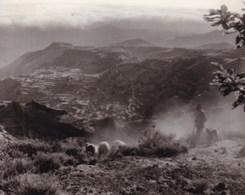 GRAN CANARIA. CRUZ De TEJEDA  1956 Espagne Photo Amateur Format Environ 5,5 Cm X 7,5 Cm - Lugares
