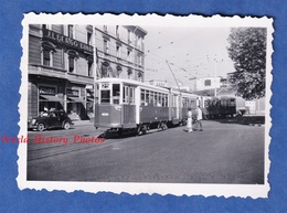 Photo Ancienne Snapshot - ITALY / ITALIA - Ville à Situer - Tramway 25 - Immeuble Albergo Binda - Publicité Motta - Auto - Treni