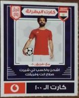 EGYPT - Mohamed Salah  Card  100 L.E, Vodafone , [used] (Egypte) (Egitto) (Ägypten) (Egipto) (Egypten) Africa - Egypte