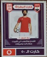 EGYPT - Mohamed Salah  Card  50 L.E, Vodafone , [used] (Egypte) (Egitto) (Ägypten) (Egipto) (Egypten) Africa - Egypte