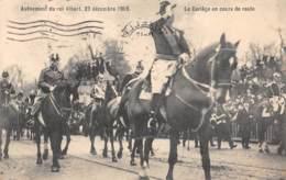 Avênement Du Roi Albert, 23 Décembre 1909 - Le Cortège En Cours De Route - Familles Royales