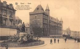GENT - Standbeeld VAN Liévin Bauxens En Geraard Duivelsteen - Gent