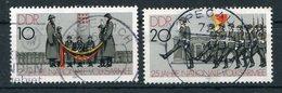DDR Michel-Nr. 2580-2581 Vollstempel Tagesstempel - Gebraucht