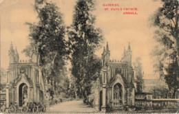 R198080 Gateway. St. Pauls Church. Ambala. Moorli Dhur - Cartes Postales
