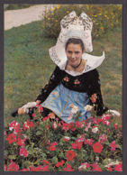 94490/ BRETAGNE, Costume Et Coiffe De La Forêt-Fouesnant - Costumes