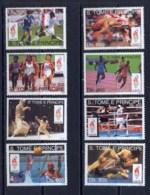 Sao Tome E Principe 207 N° 1451/8 Jeux Olympiques (olympic Games) Atlanta 96 Cote 44 Euros ** MNH - Estate 1996: Atlanta
