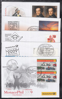 NE 101 ) Free Shipping To //  10 Beautiful Fair Letters Of Germany On Different Occasions Z.b. Hong Kong, Rome - Philatelic Exhibitions
