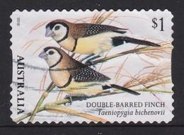 Australia 2018 Finches Double-Barreled Finch Self-adhesive Used - 2010-... Elizabeth II